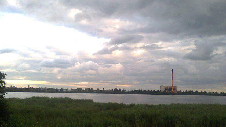 Озеро Вырлица, где убили Захара Черевко в Киеве