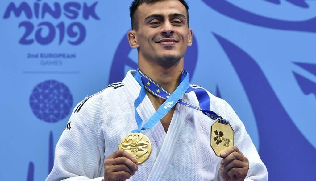 Георгий Зантарая – дзюдо. Победа в полулегком весе до 66 кг.