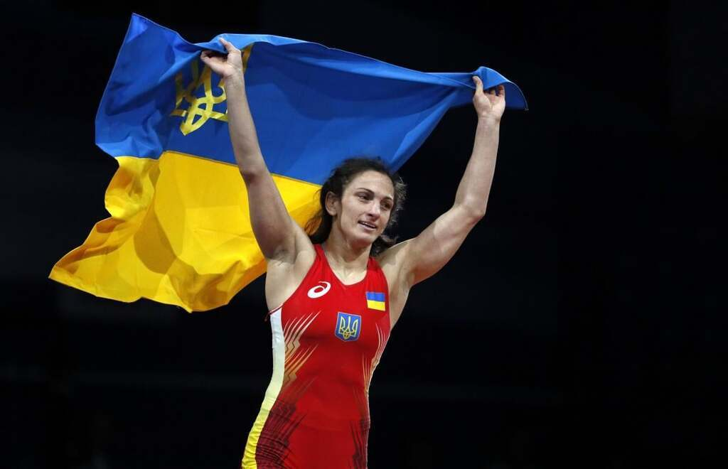 Юлия Ткач – вольная борьба. Победа в весовой категории до 62 кг