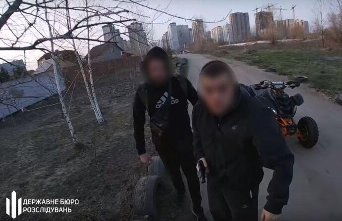 В Киеве полицейский стрелял в человека
