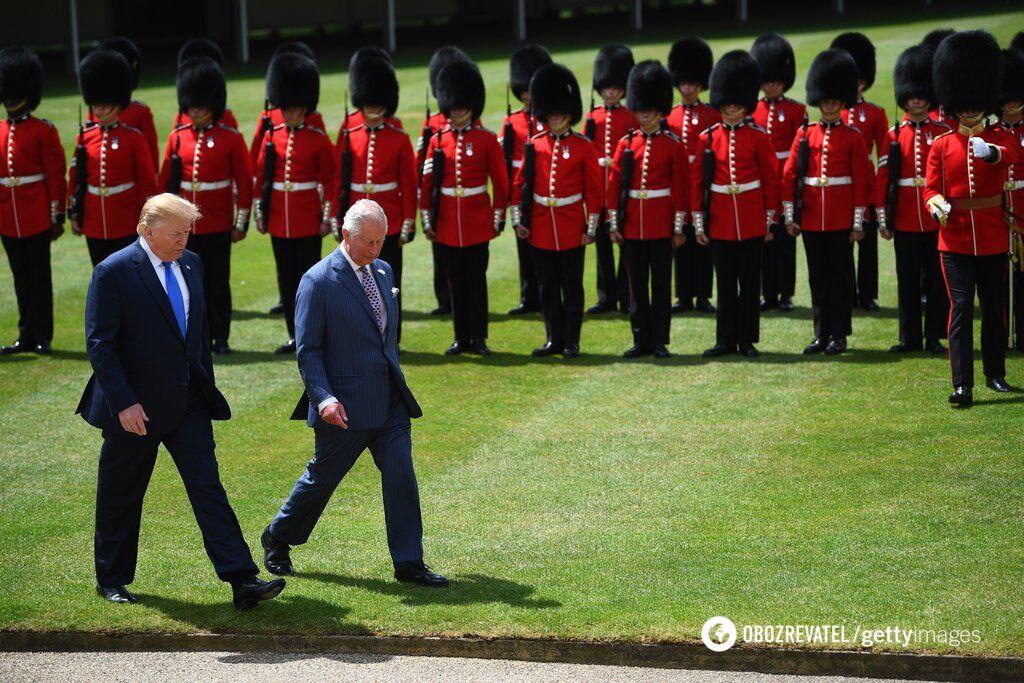 """Від """"вічної дружби"""" до """"жалюгідного лузера"""": з чим Трамп приїхав до Британії"""