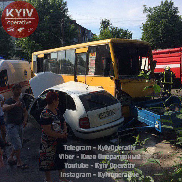 Аварія в Боярці