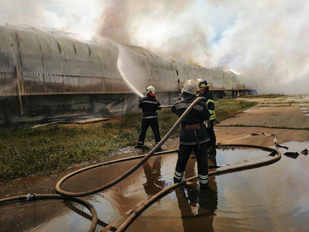 Васильков птицефабрика: 4 июня здесь произошел масштабный пожар