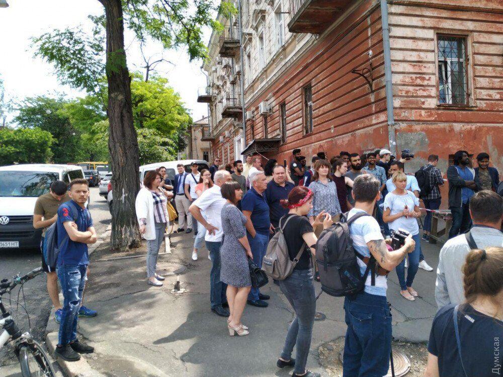 Стычки в Одесском медуниверситете