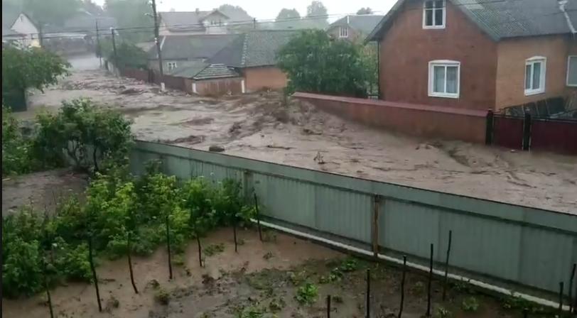 Тернопольщина из-за ливней ушла под воду