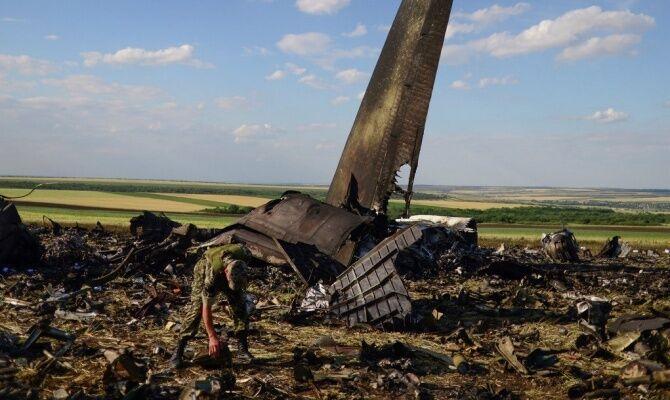 Сбитый Ил-76 под Луганском