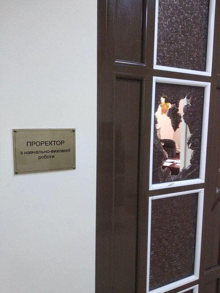 Разбой в Одесском медуниверситете