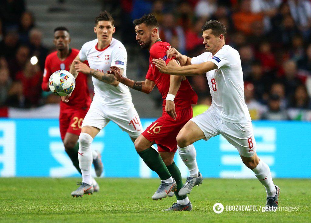 Роналду в скандальном матче вывел Португалию в финал Лиги наций
