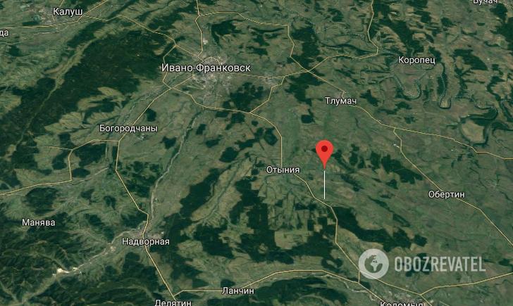 ДТП с полицейским произошло в с. Лесной Хлебычин