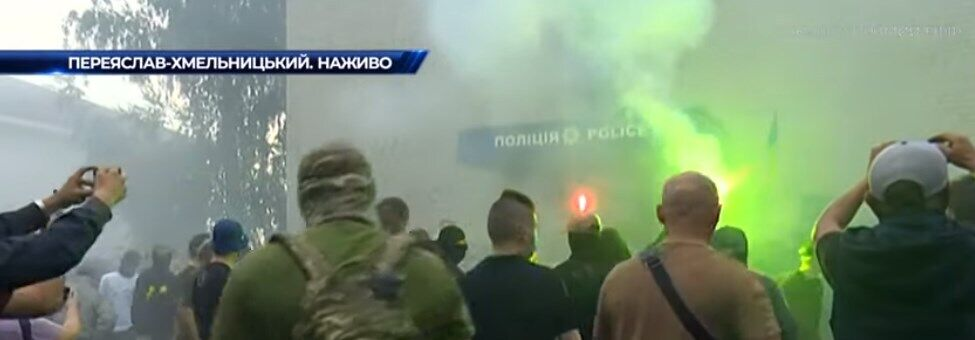Митинг в Переяслав-Хмельницком