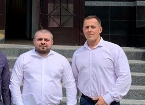 На фото зліва: Сергій Коровченко і Михайло Ковальчук