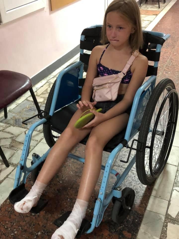 Под Киевом аттракцион искалечил ребенка