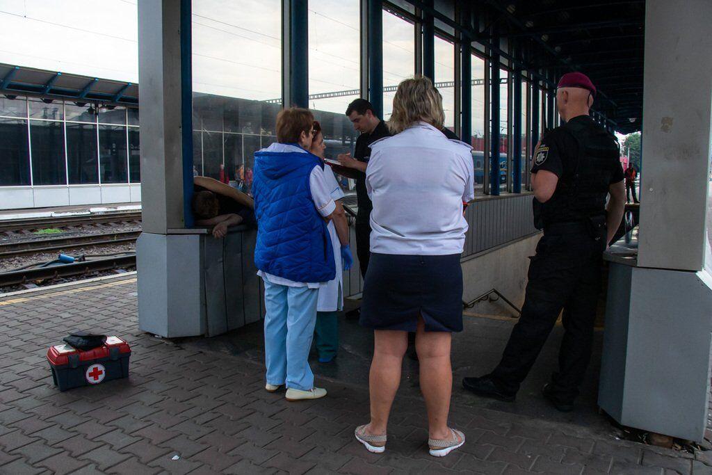 На вокзале нашли труп