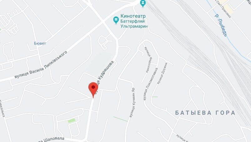 Адрес, где произошло самоубийство