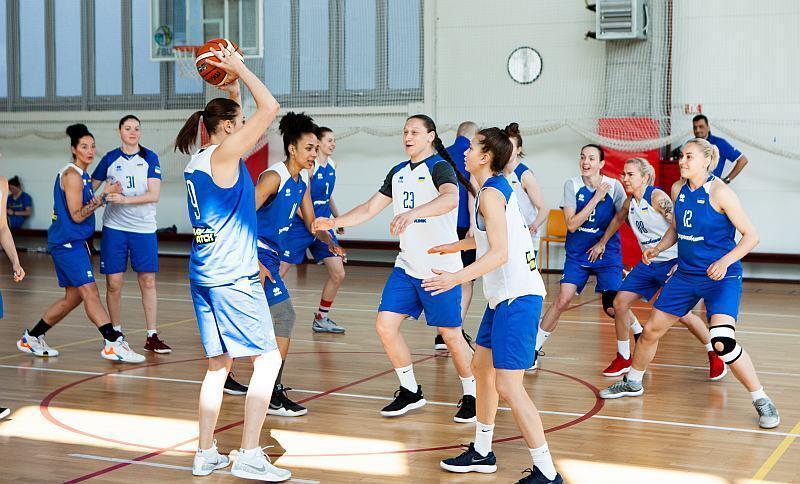 женская сборная Украины по басктеболу