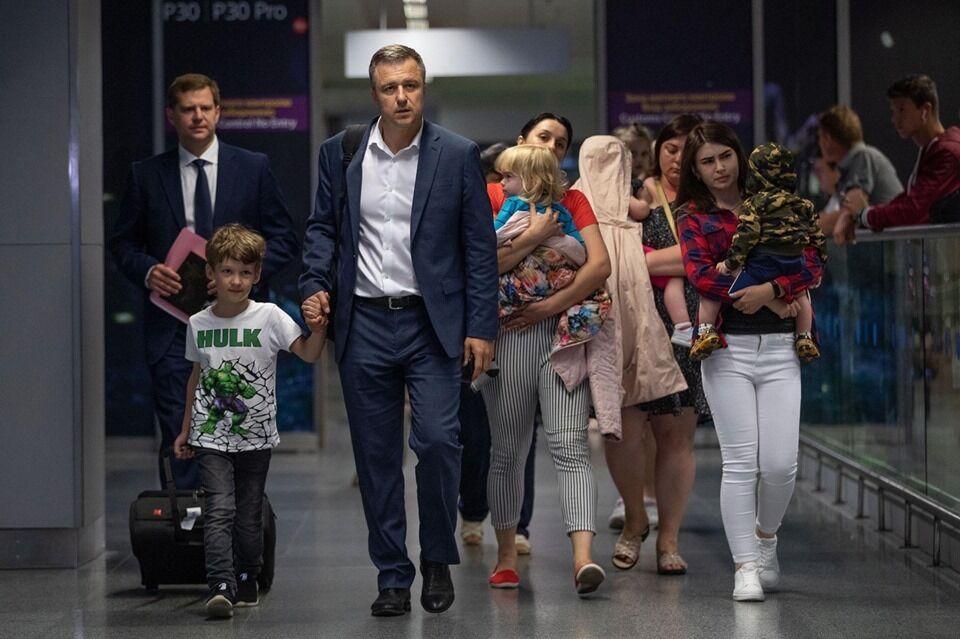 Дети Юлии Сусляк