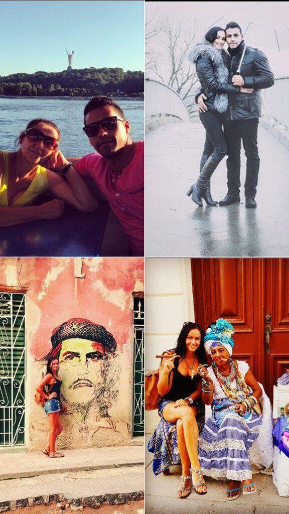 Рейди приезжал в Киев, Алла ездила на Кубу