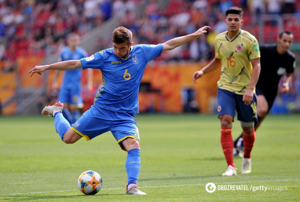 Колумбия – Украина