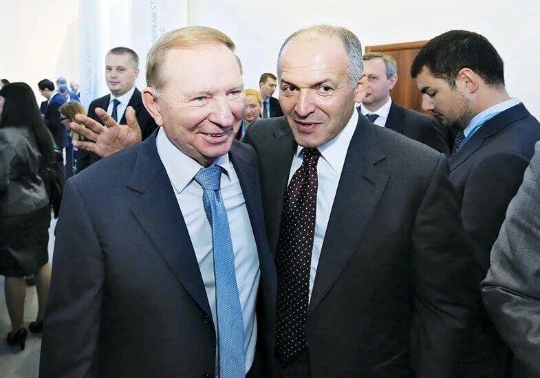 Леонид Кучма и Виктор Пинчук
