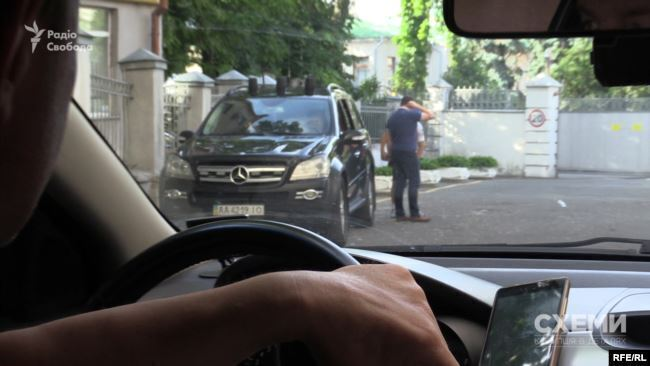 Авто охраны Кучмы