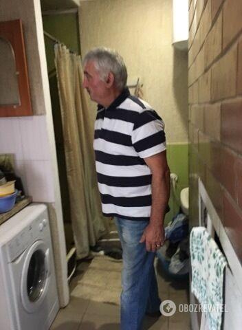 Леонид Струк у себя в доме