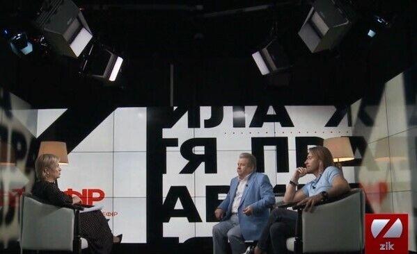 Винник и Поплавский в эфире ZIK