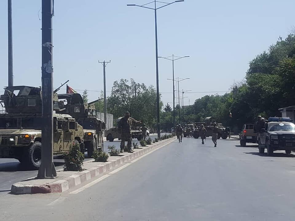 Спецназ Афганістану прибув на місце НП