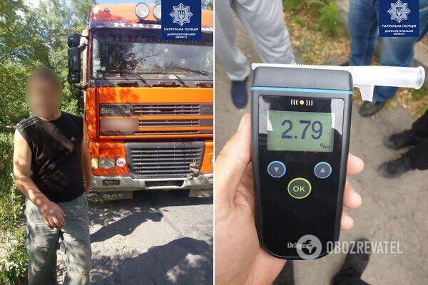 Машинка в песочнице: в Днепре пьяный водитель заехал на детскую площадку