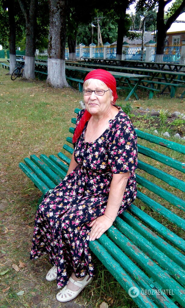 Пенсионерка Надежда покинуть Чернобыль не может, это ее земля