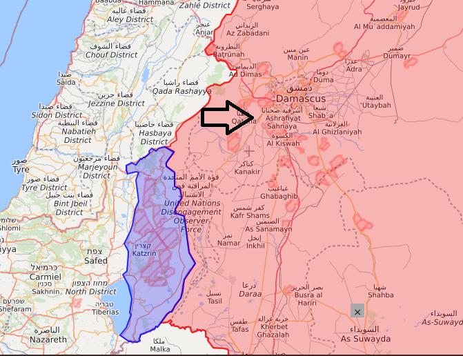 Атака Израиля на Сирию