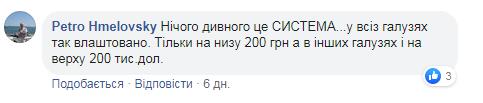 Комментарии под постом