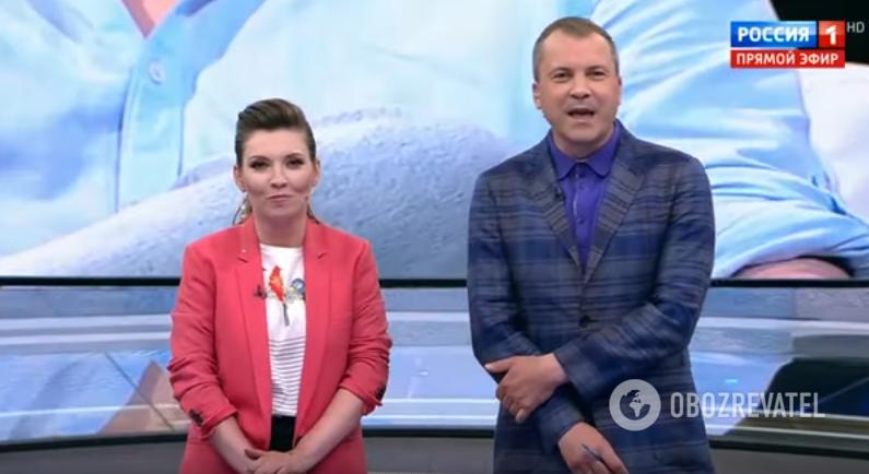 Ольга Скабєєва і Євген Попов
