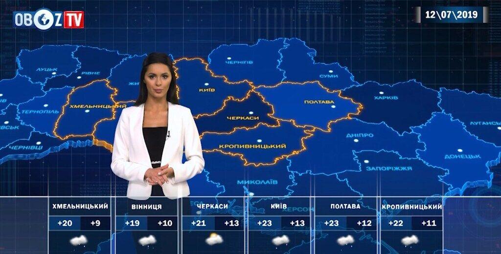 Какой будет погода в Украине на Петра и Павла: прогноз на 12 июля от ObozTV
