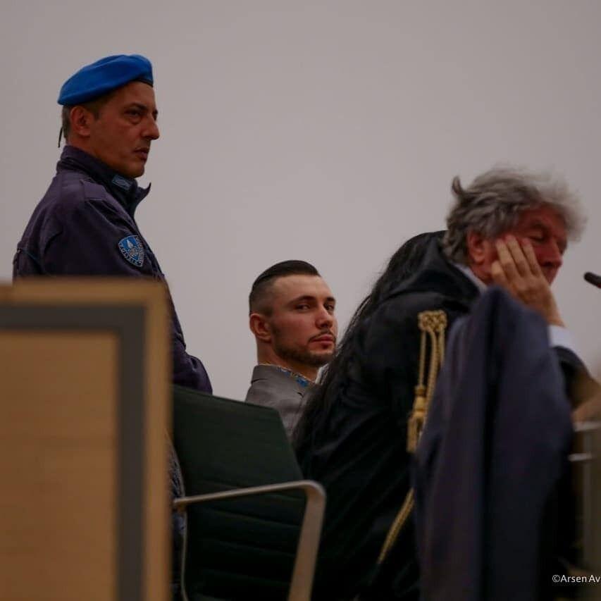 Украинский воин выступил с последним словом в суде Италии