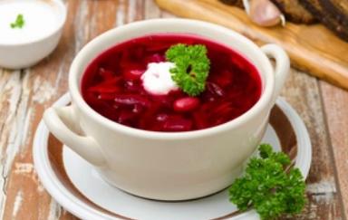 Рецепт дуже смачного наваристого борщу з квасолею
