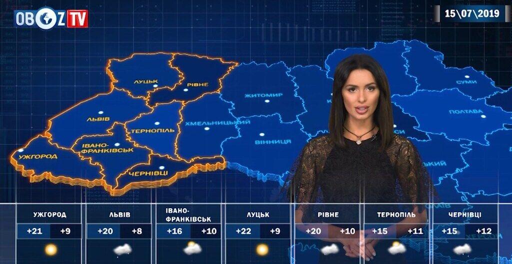 Грозы и ветер: прогноз погоды на 15 июля от ObozTV