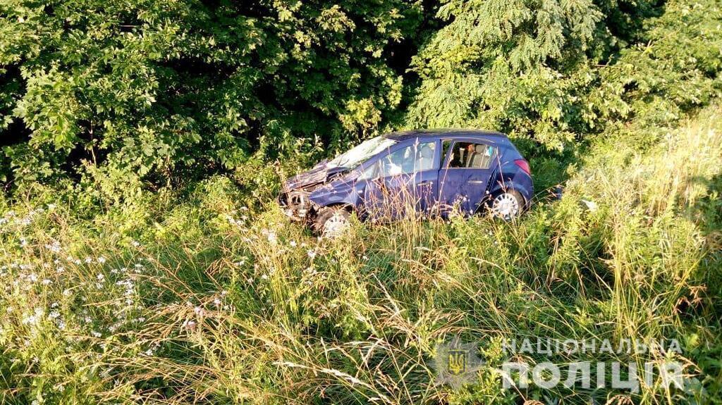 Авария под Новоград-Волынским