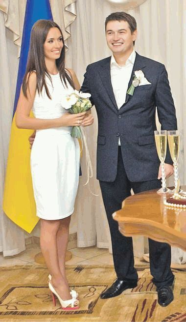 Андрій та Єлизавета Ющенко