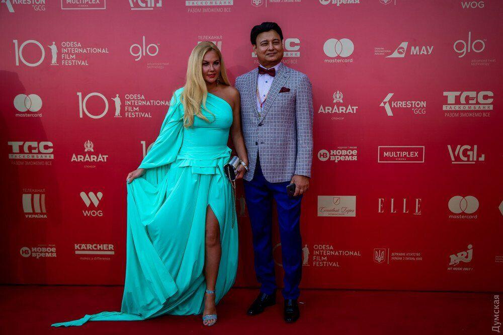 Камалия с мужем Мохаммадом Захуром