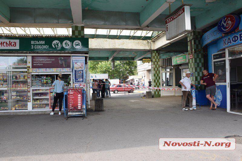 Вокзал у Миколаєві