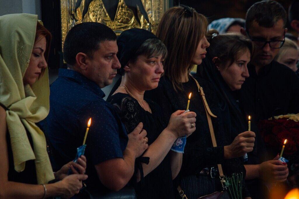 Похорон Анастасії Ковальової