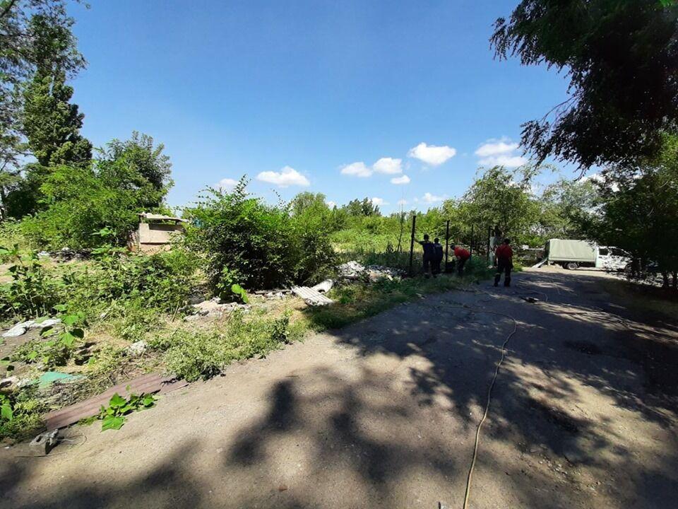 У центрі Дніпра розігнали поселення ромів