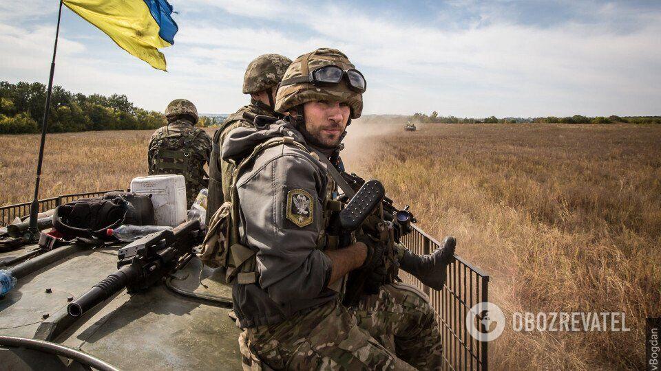 Українська армія на Донбасі