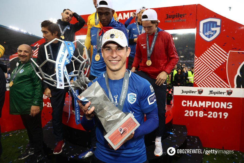 У Бельгії Руслан Малиновський був визнаний одним із кращих гравців минулого чемпіонату