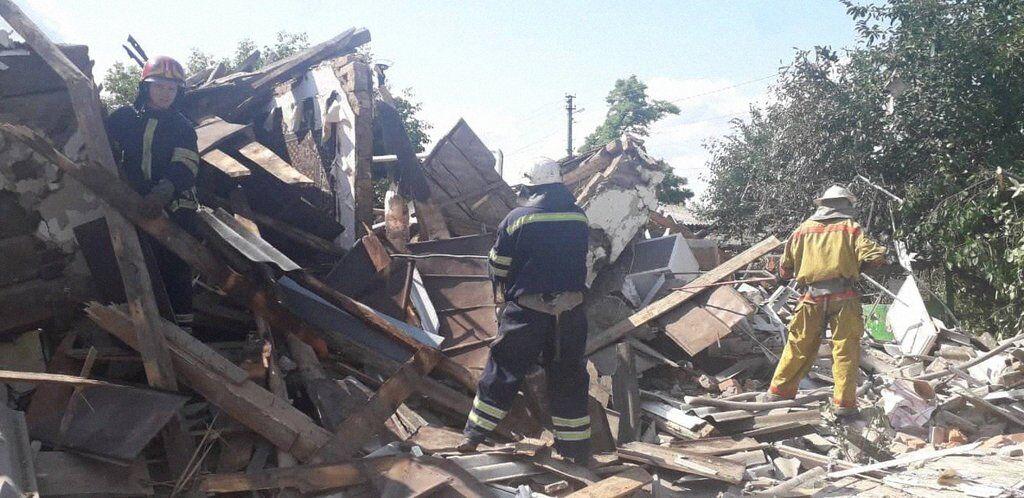 Взрыв под Киевом