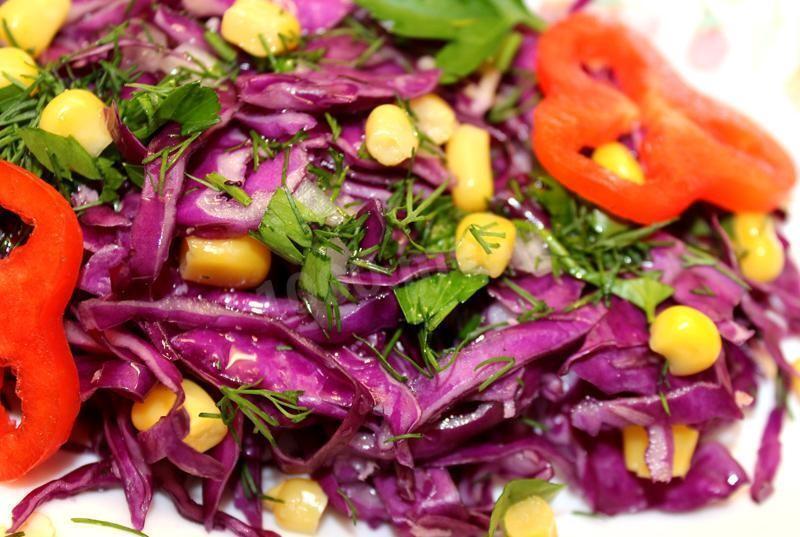 Три лучших рецепта очень вкусных овощных салатов