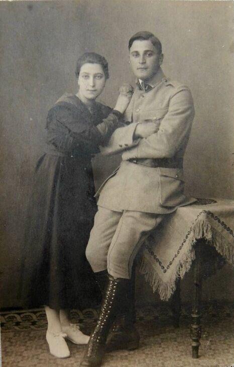 Дед и бабушка Ангелы Меркель по отцовской линии, 1919 год