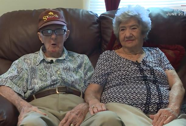 Герберт ДеЛейгла, 94 роки, і Мерилін Френсіс ДеЛейгл, 88 років