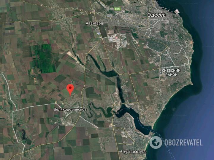 Селище Великодолинське Одеської області