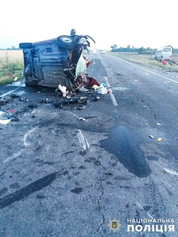 Аварія трапилася у Миколаївській області